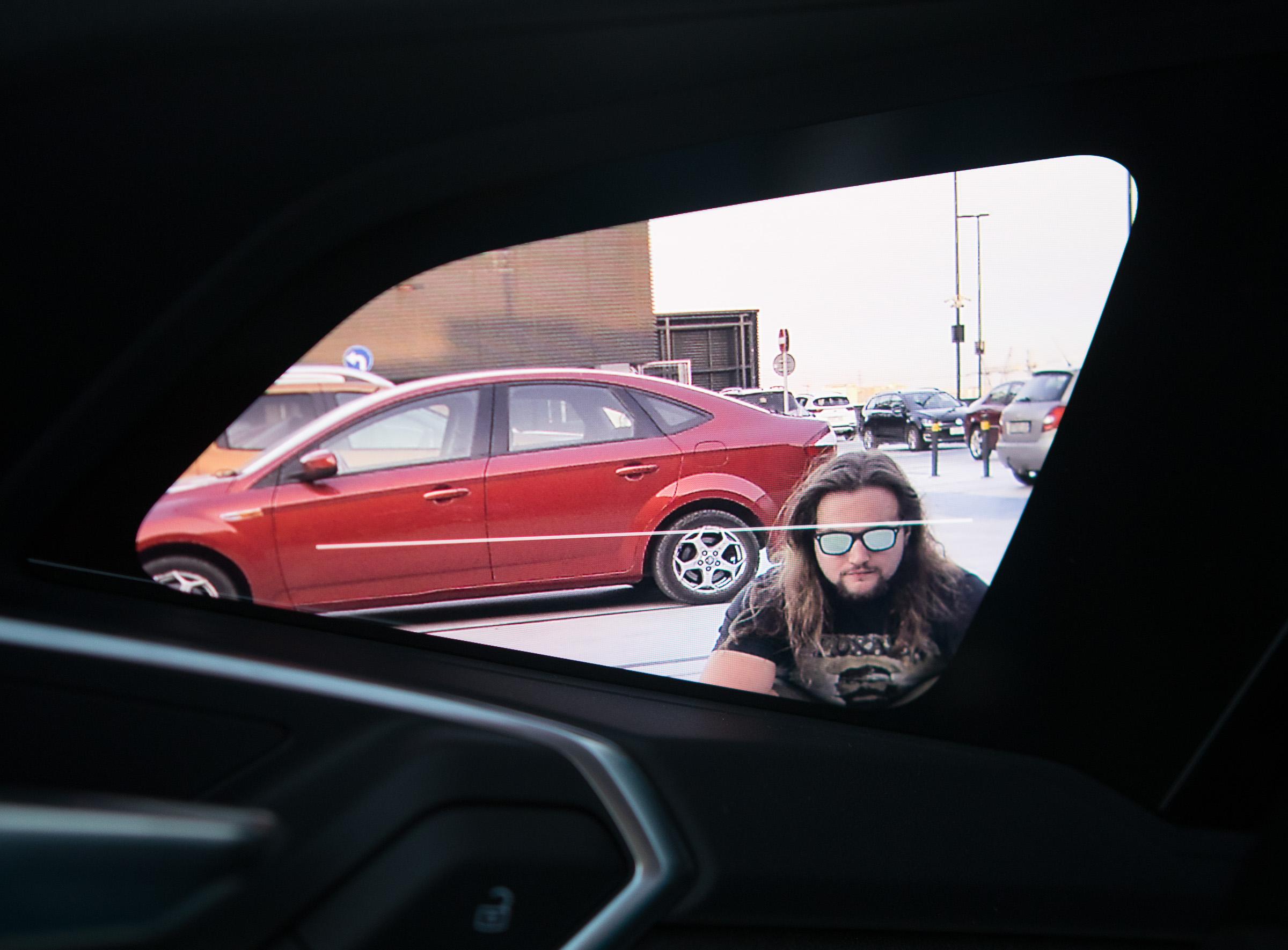 Audi etron lusterka