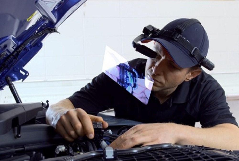 BMW serwis okulary rozszerzona rzeczywistość