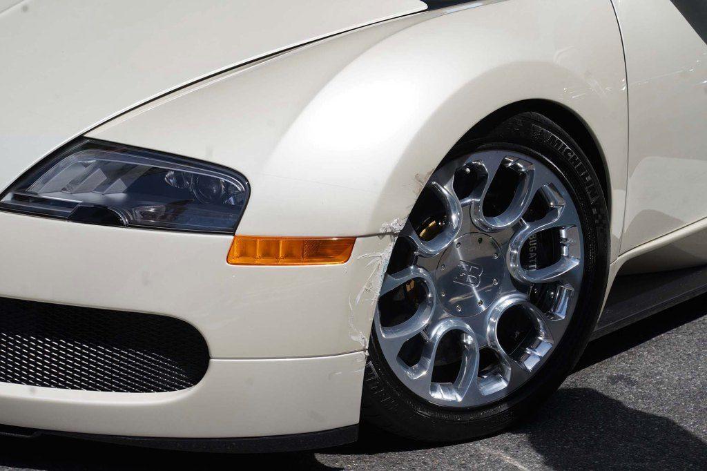 Bugatti Veyron Tracy Morgan kolizja