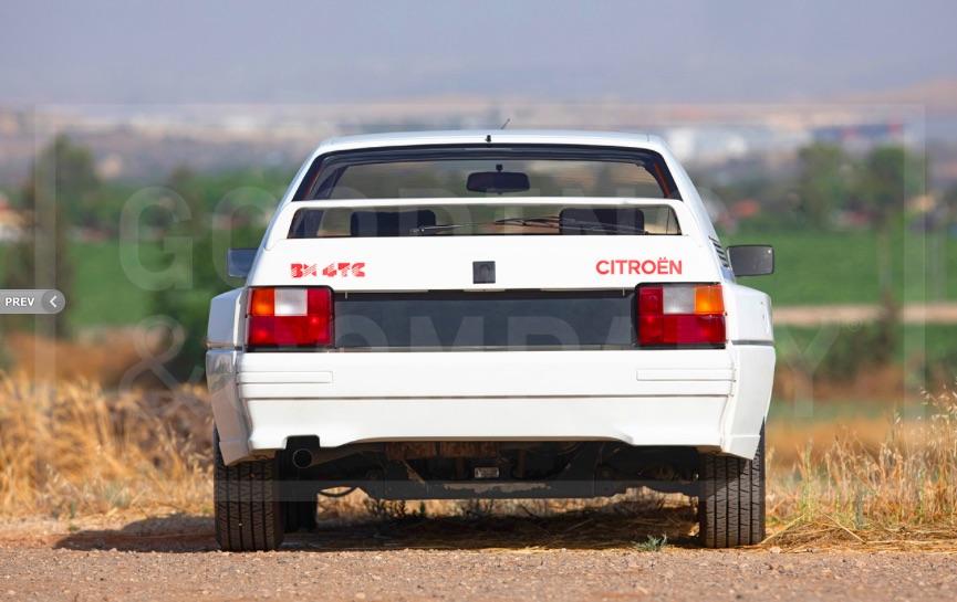 Citroen BX 4TC aukcja