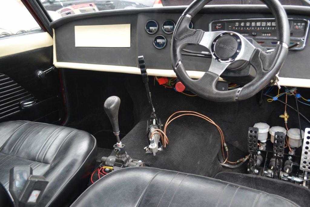 Fiat 125p V8 Mustang