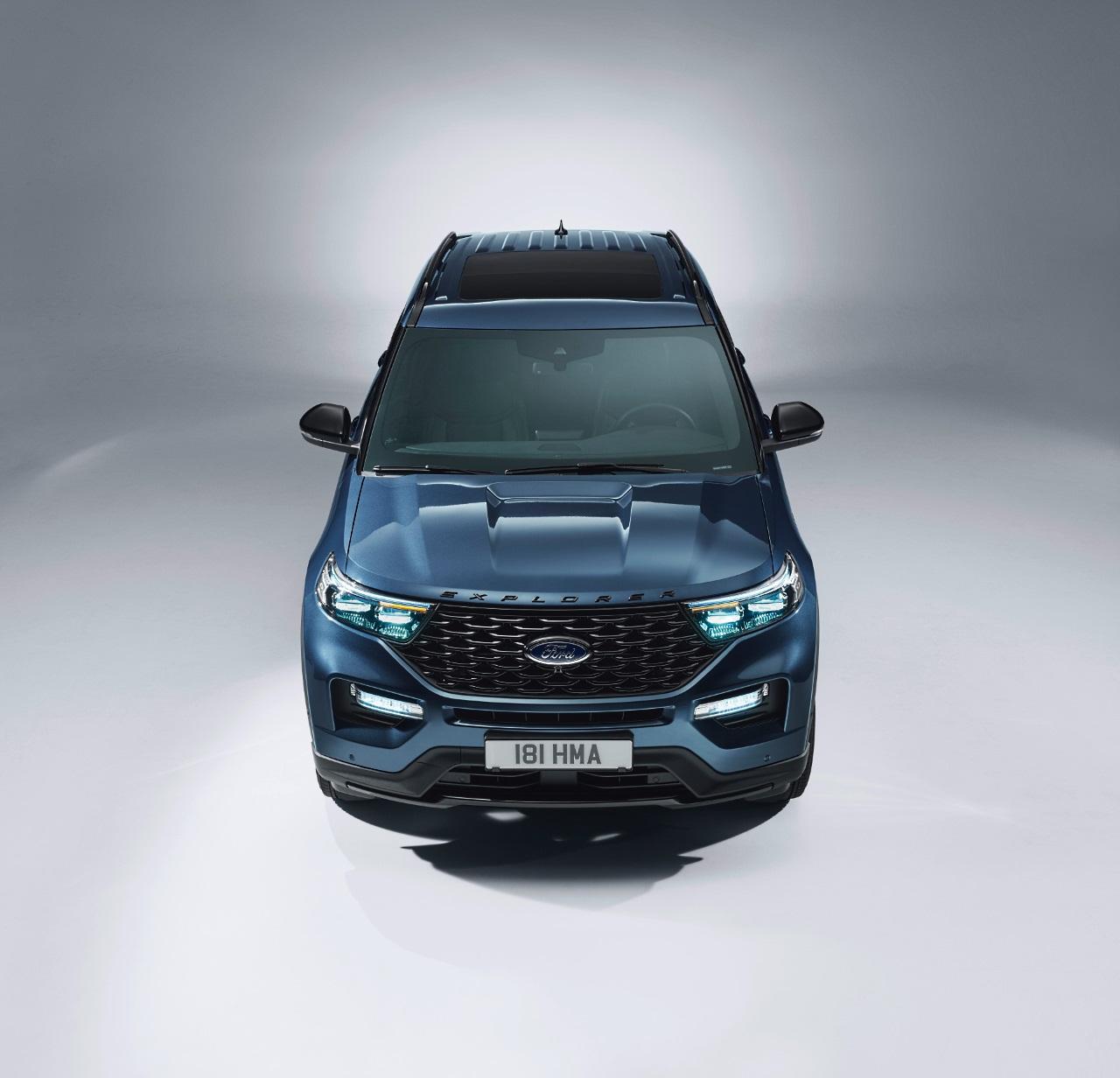 Ford Explorer hybryda plug-in wydech