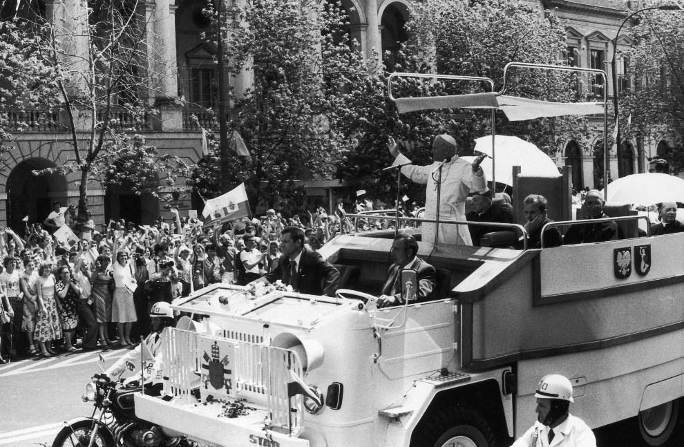 Jan Paweł II papamobile pielgrzymka