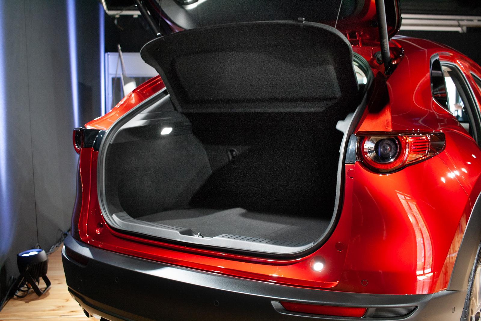 Mazda CX-30 bagażnik
