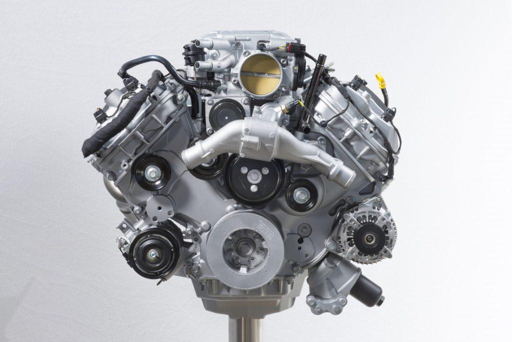 Shelby GT500 silnik moc