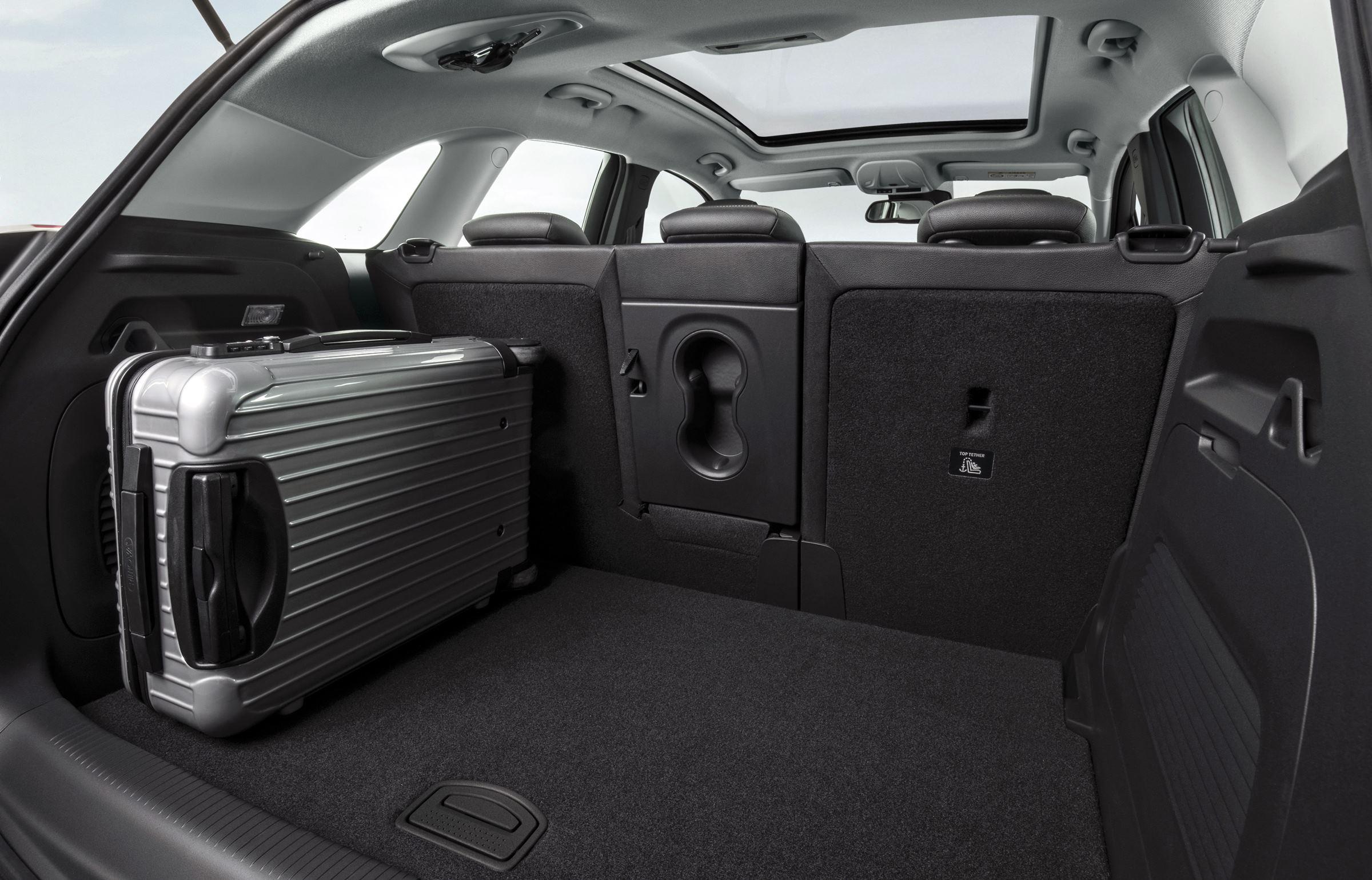 Opel Crossland X bagażnik