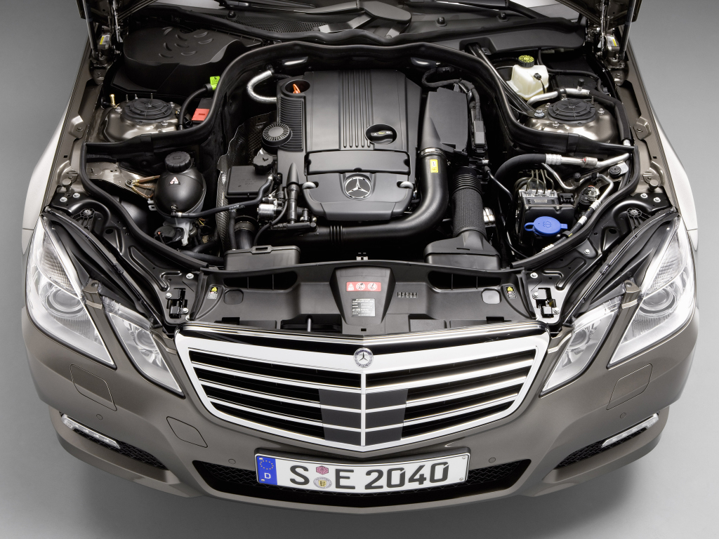 Mercedes W212 silniki