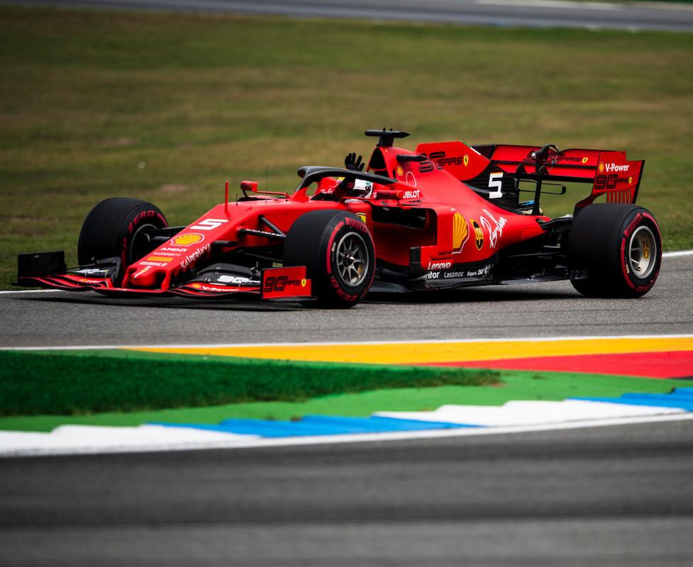 Formuła 1 GP Niemiec Ferrari Vettel