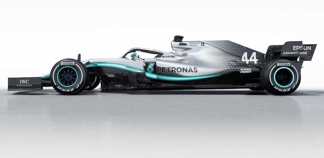 Formuła 1 Mercedes