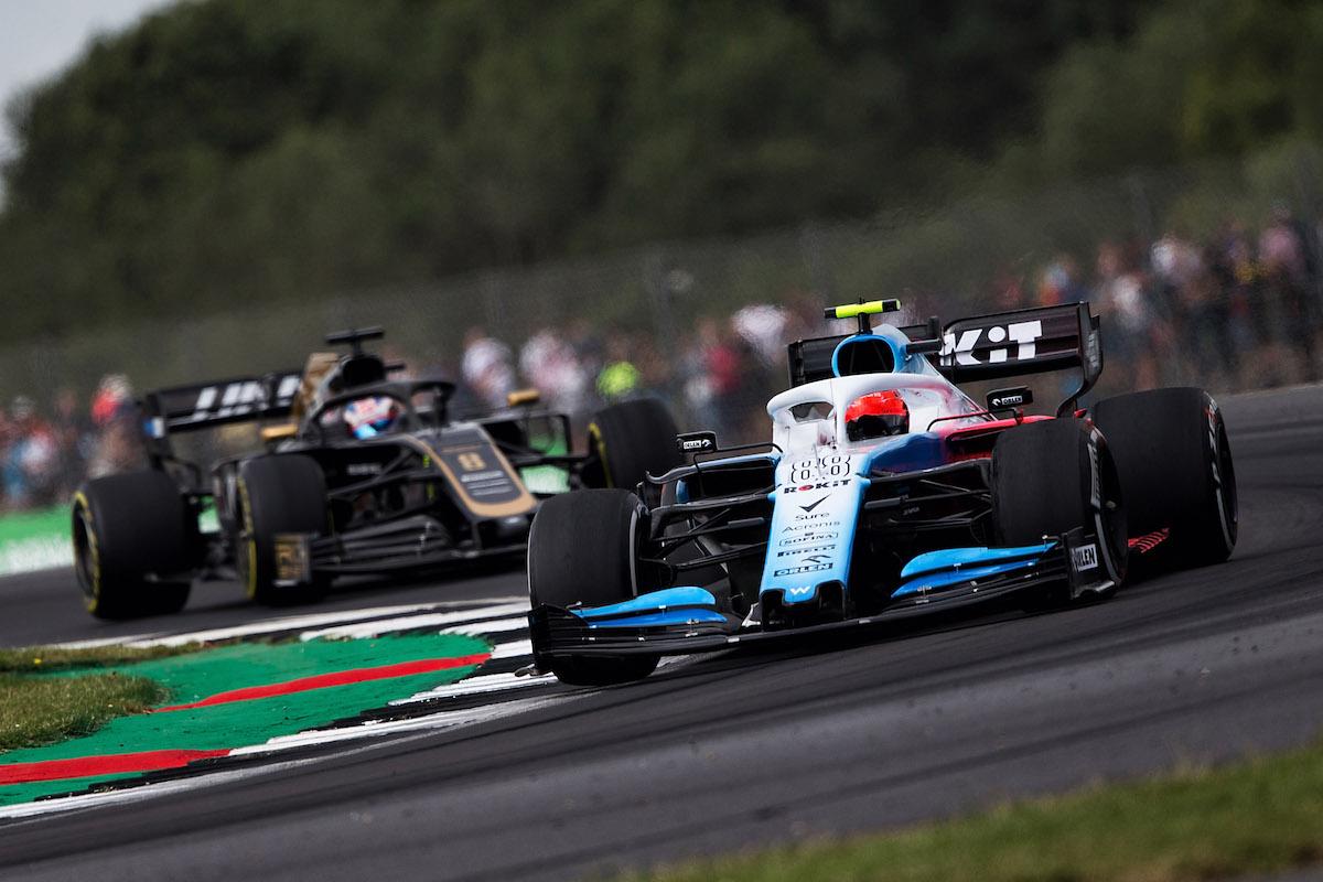 GP Wielkiej Brytanii Silverstone Williams Kubica
