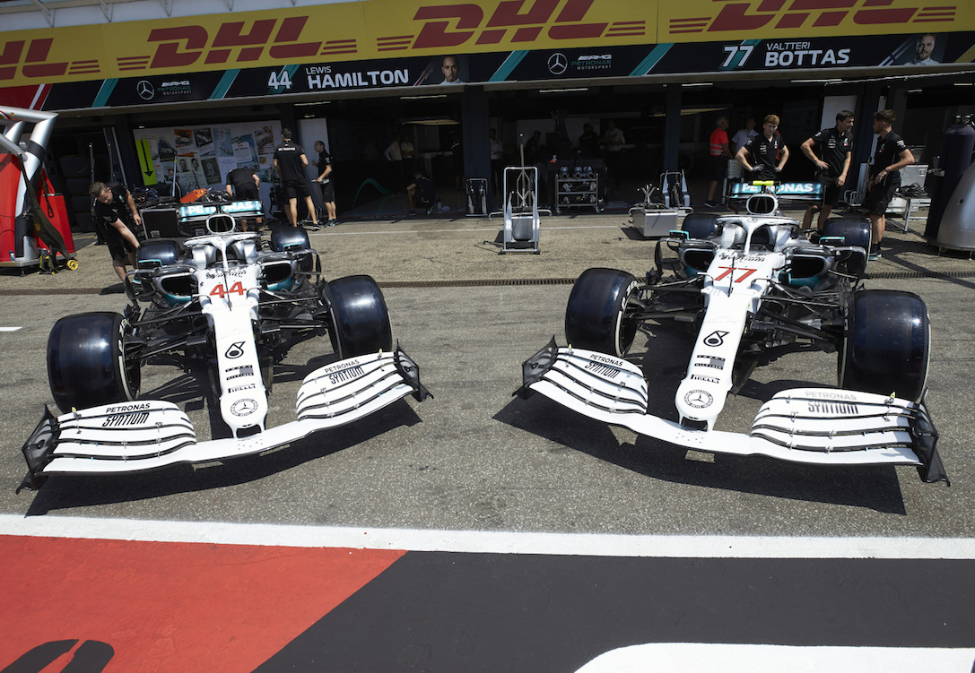 Formuła 1 GP Niemiec Mercedes