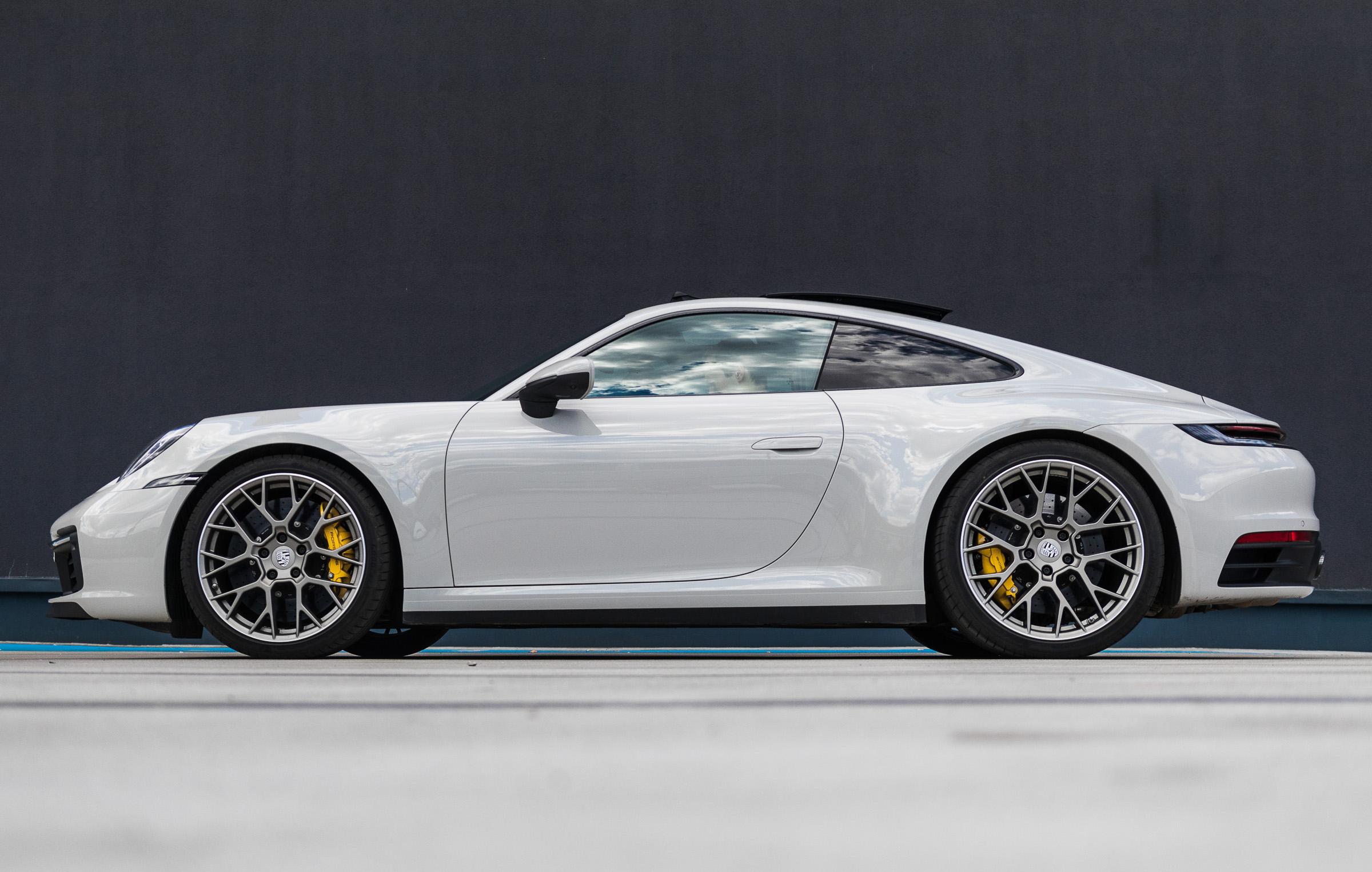 Porsche 911 992 test 2019