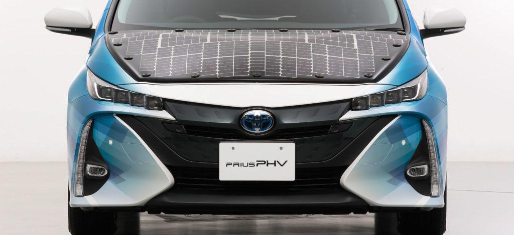 Toyota Prius panele solarne