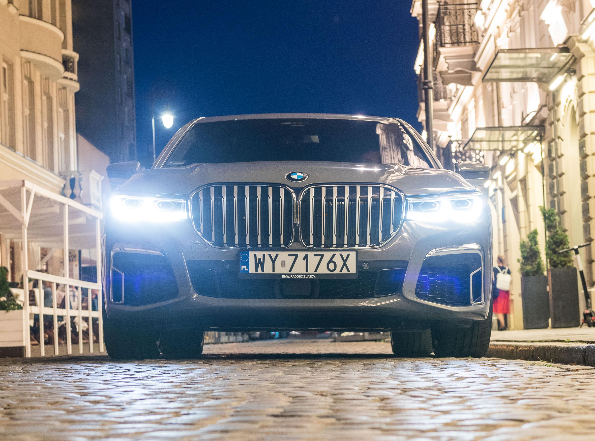 BMW 745Le test 2019