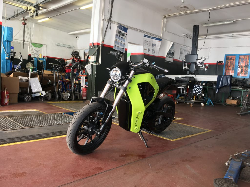 elektryczny motocykl Falectra
