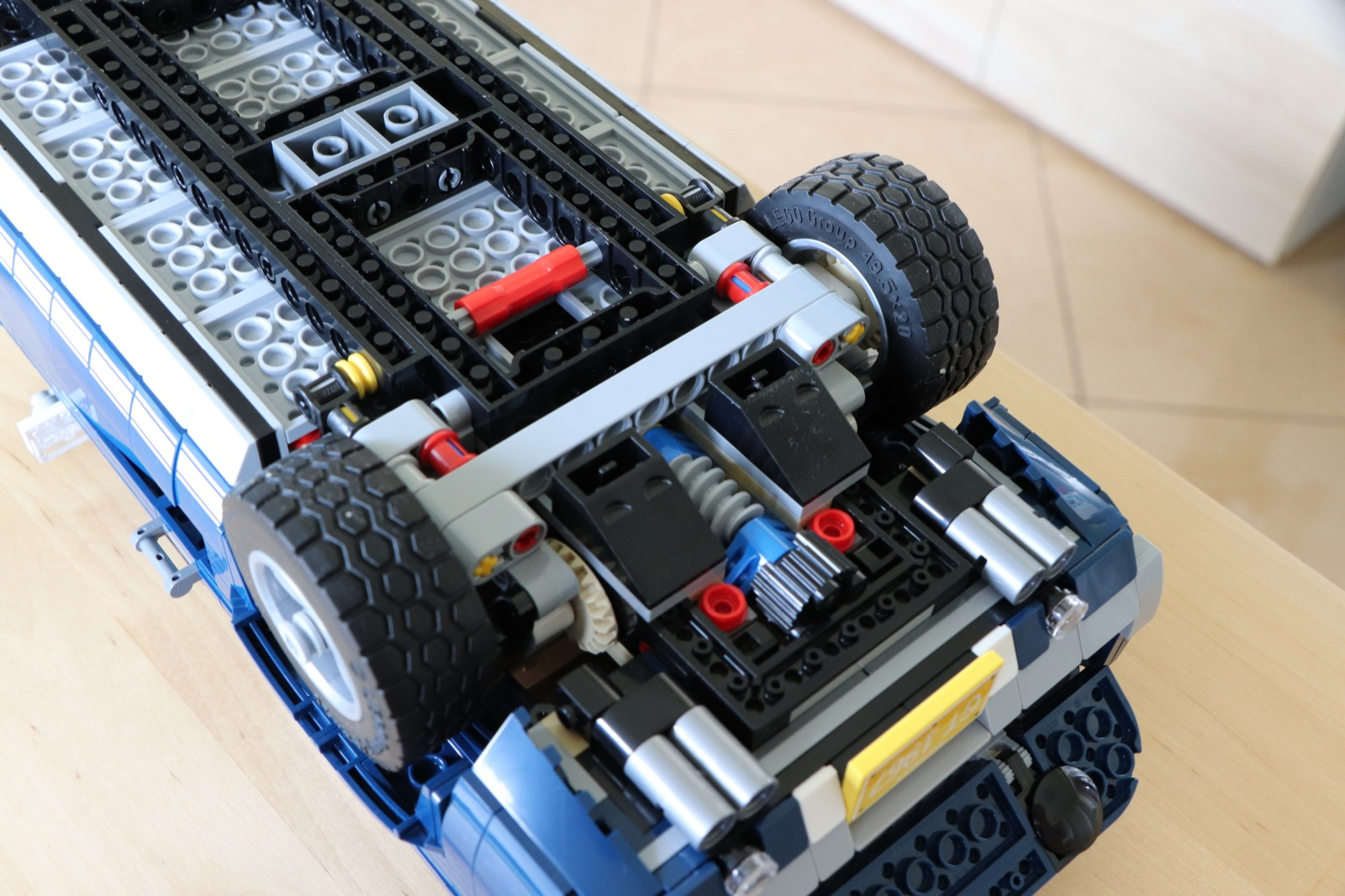 ford mustang lego