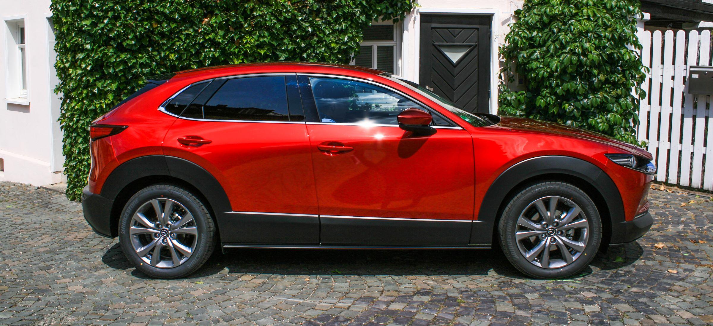 Mazda CX-30 test 2019