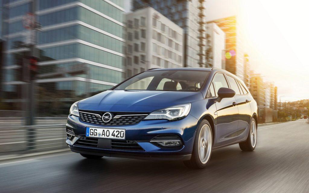 Opel Astra lifting 2019 silniki