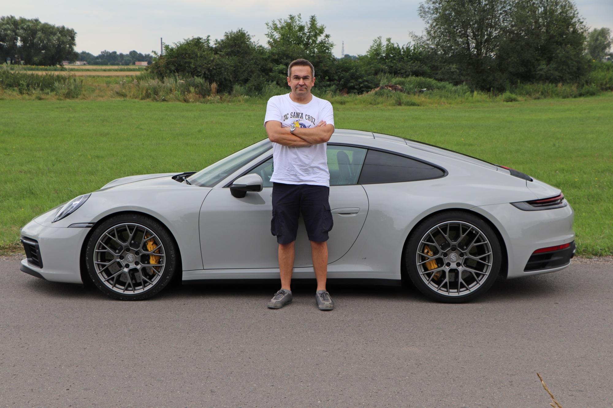 porsche 911 992 test