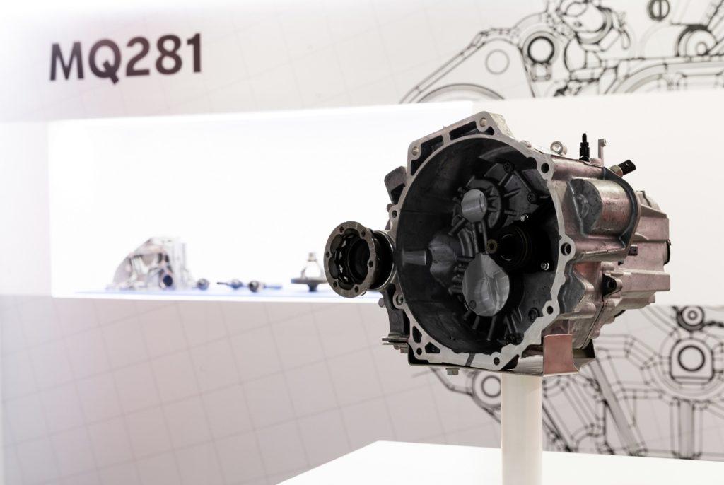 skrzynia biegów Volkswagen MQ281