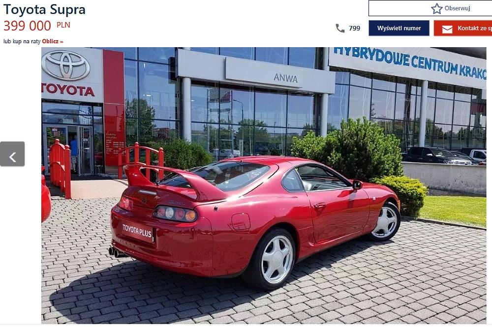 Toyota Supra Turbo Kraków