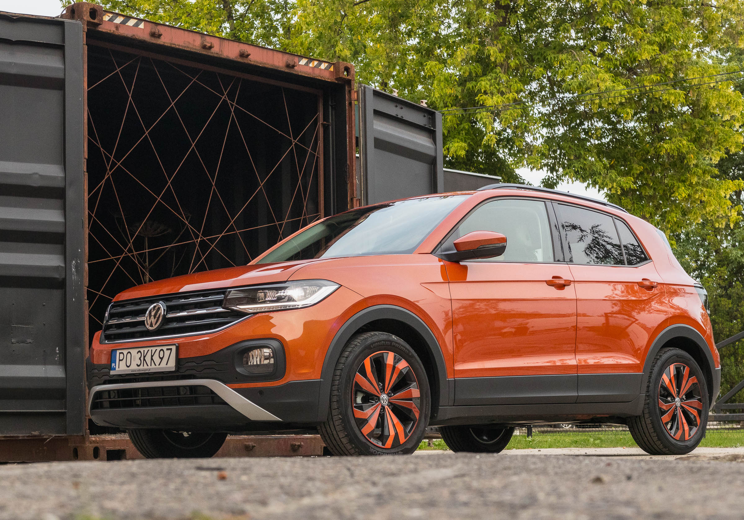 volkswagen T-Cross test