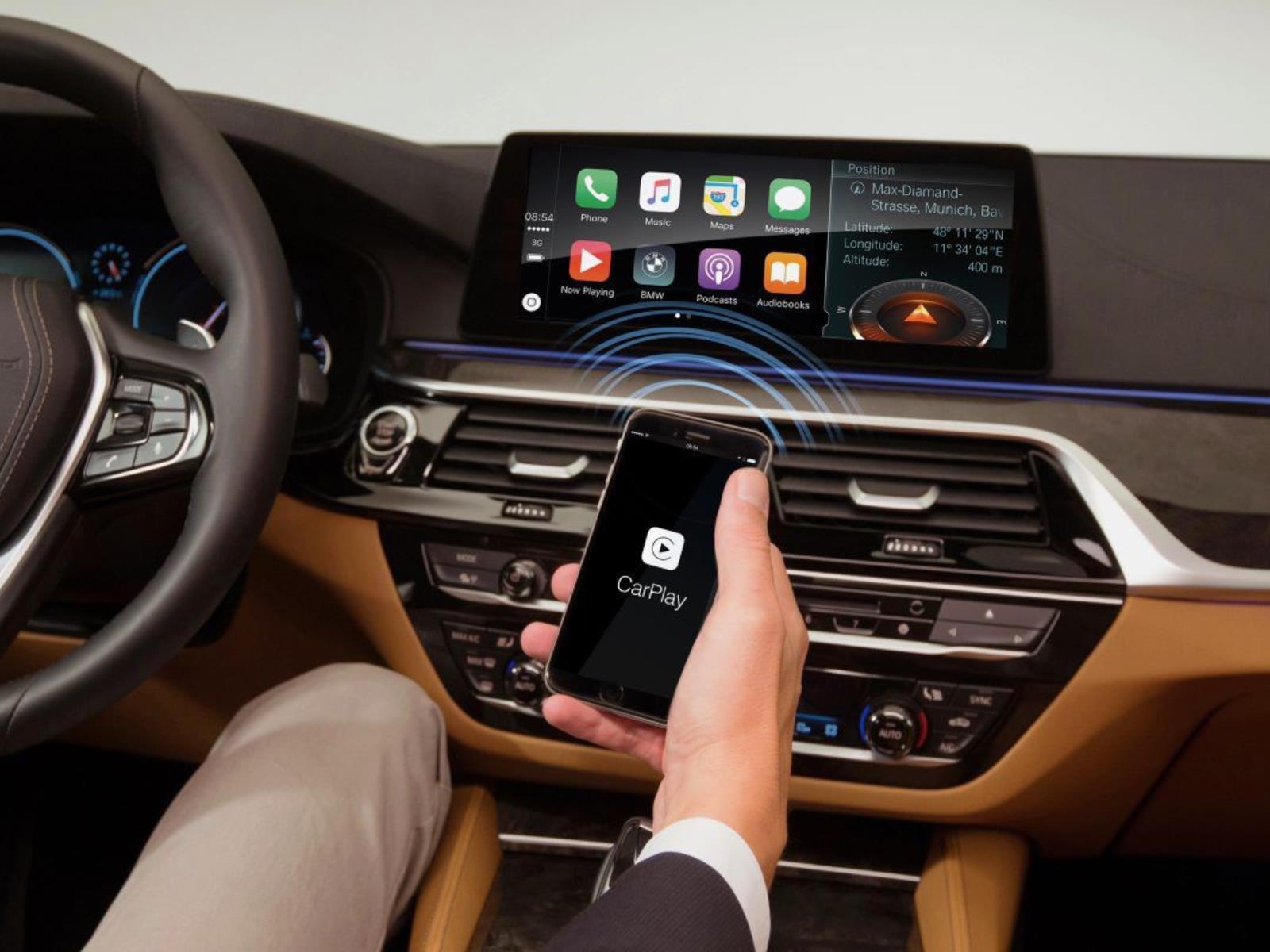 BMW Apple CarPlay