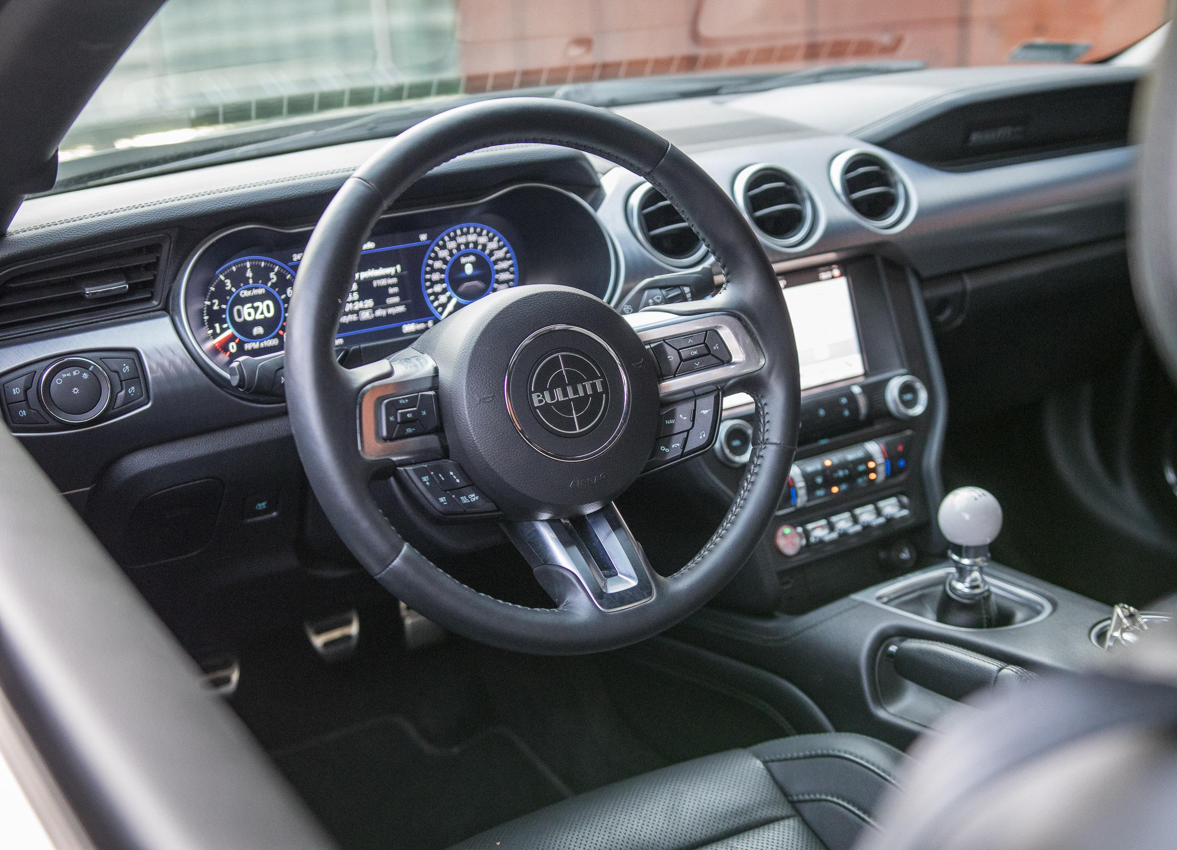 Ford Mustang Bullitt 2019 test