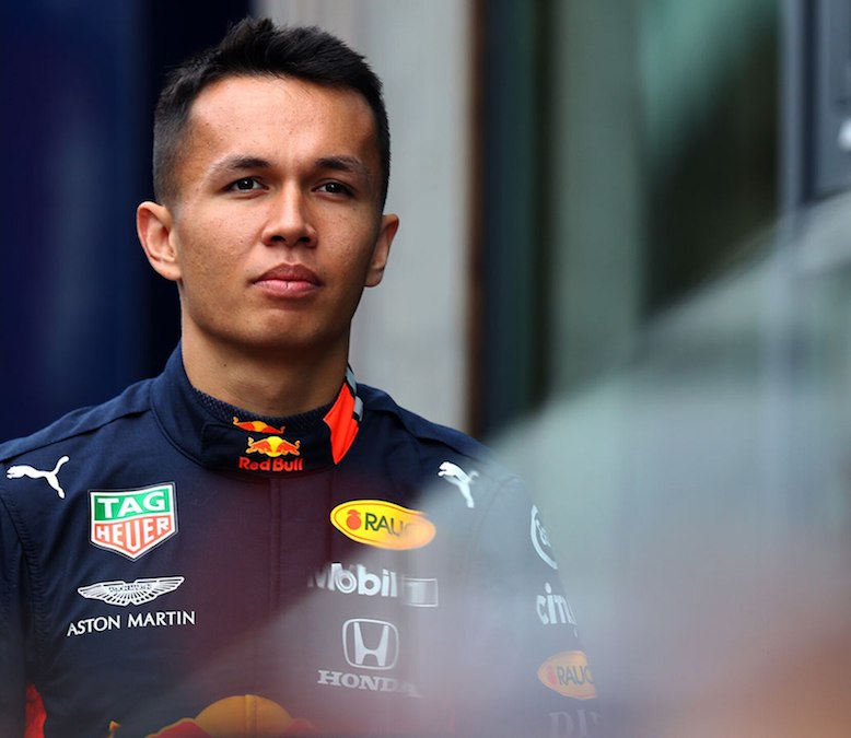 Formuła 1 GP Belgii Red Bull Alexander Albon