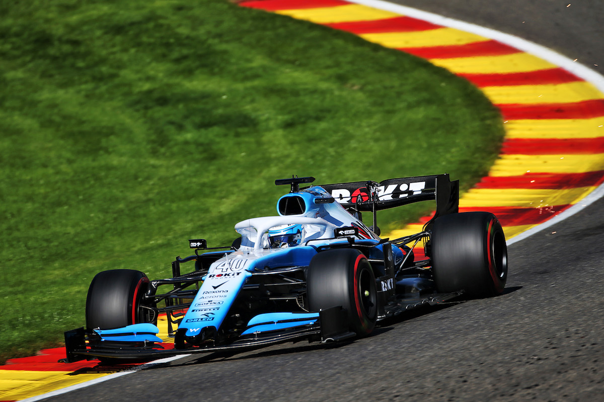 Formuła 1 GP Belgii Williams Nicholas Latifi