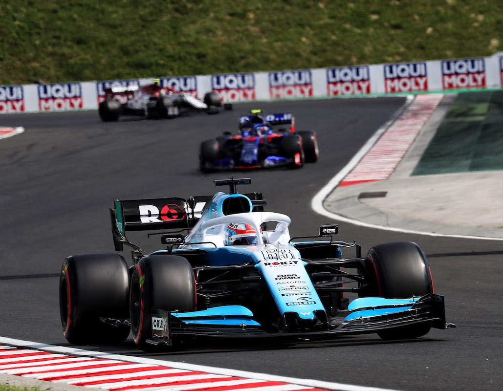Formuła 1 GP Węgier Williams Russell