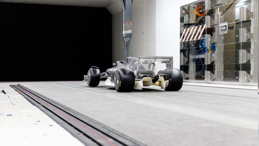 Makieta bolidu Formuły 1 na rok 2021
