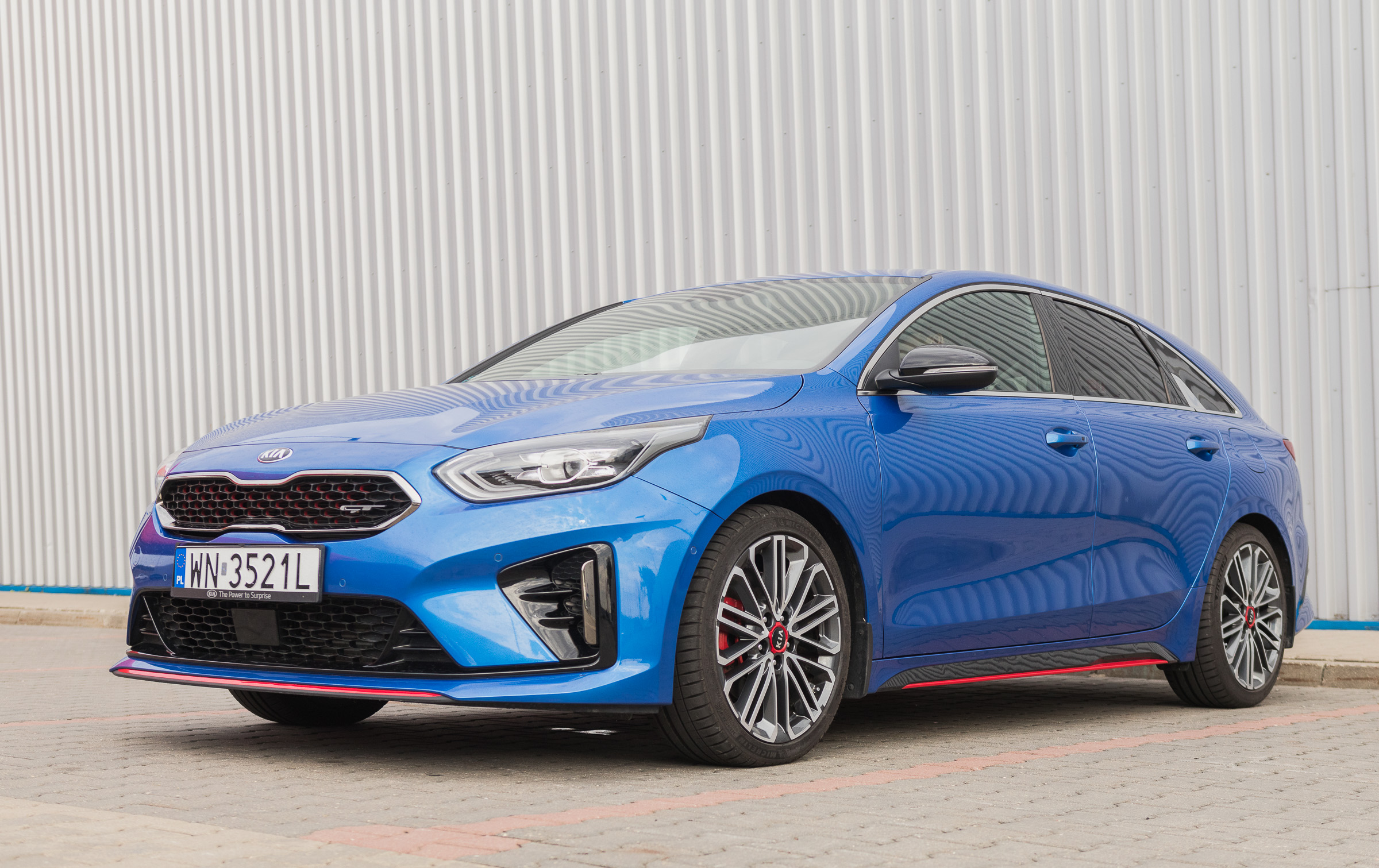 Kia Proceed GT test 2019