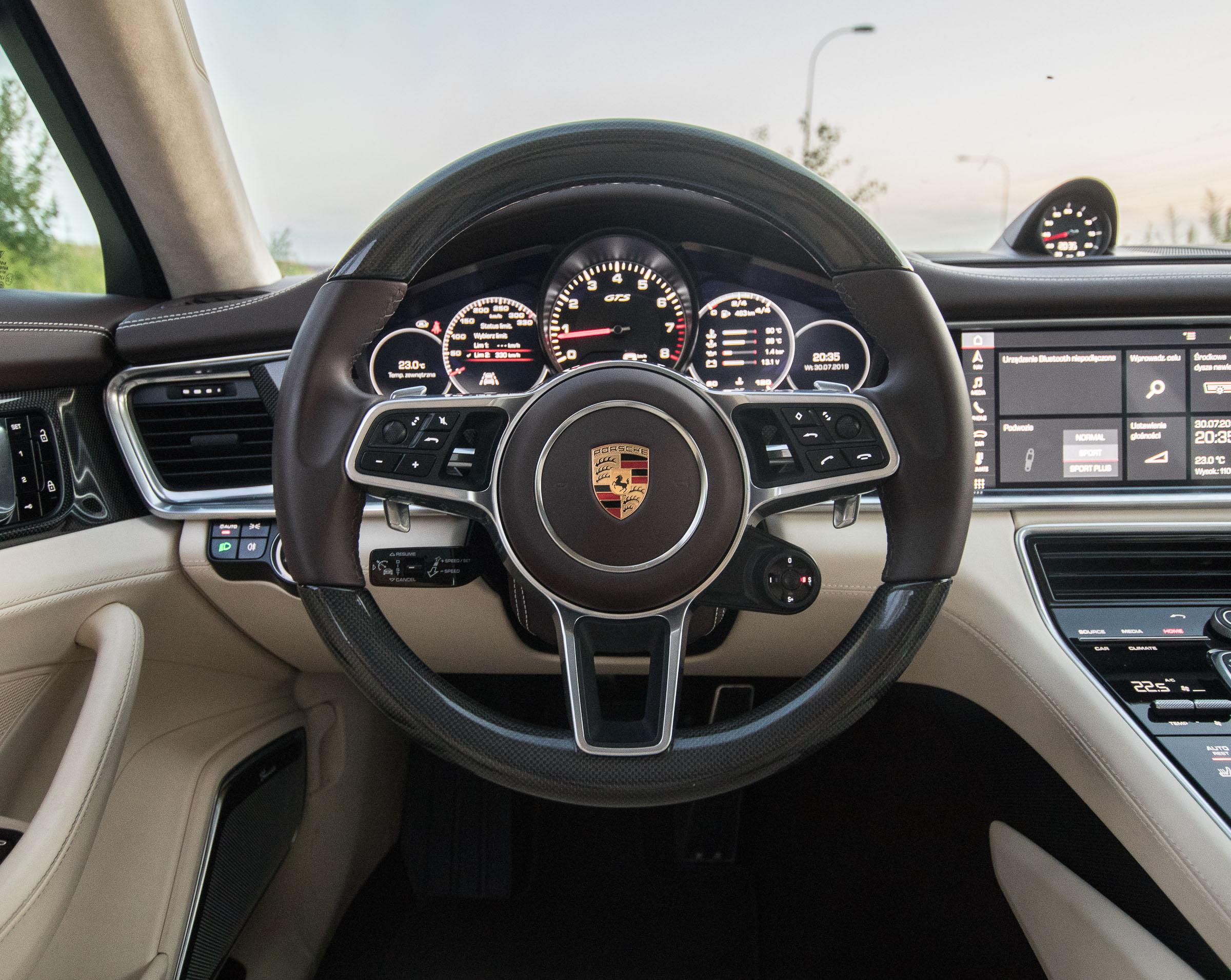 Porsche Panamera GTS 2019 test