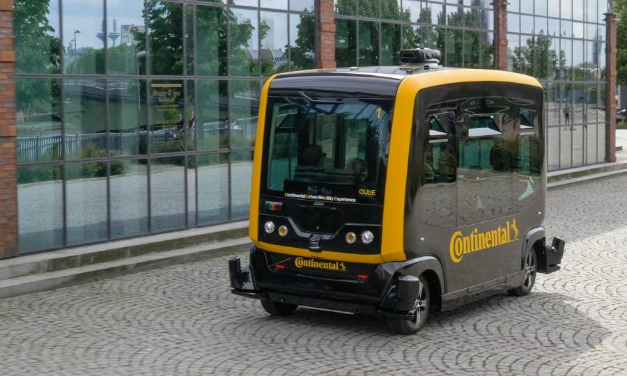 ZF samochód autonomiczny
