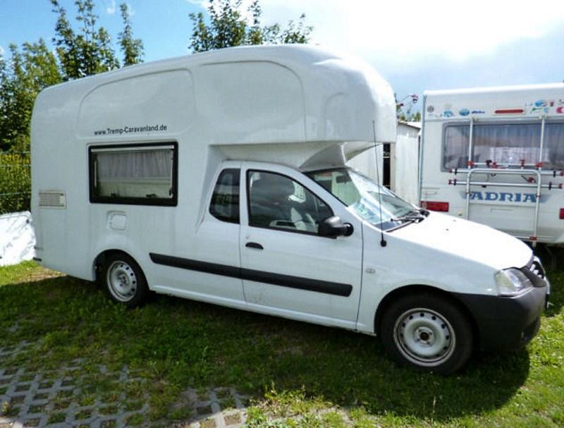Dacia Logan kamper