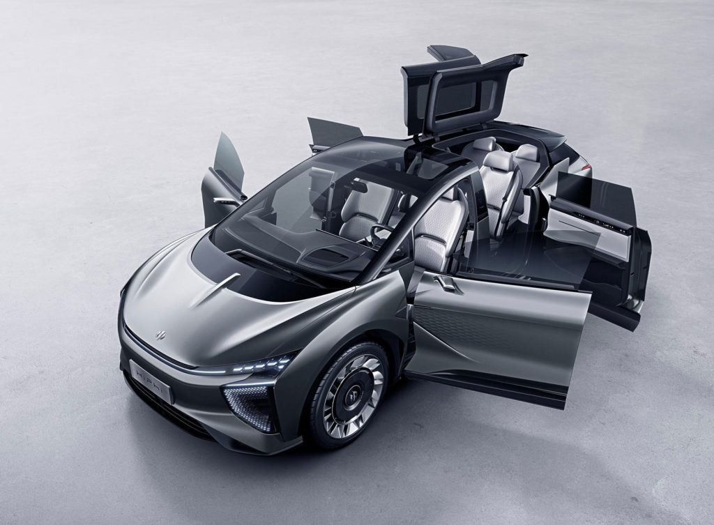 chiński samochód elektryczny HiPhi