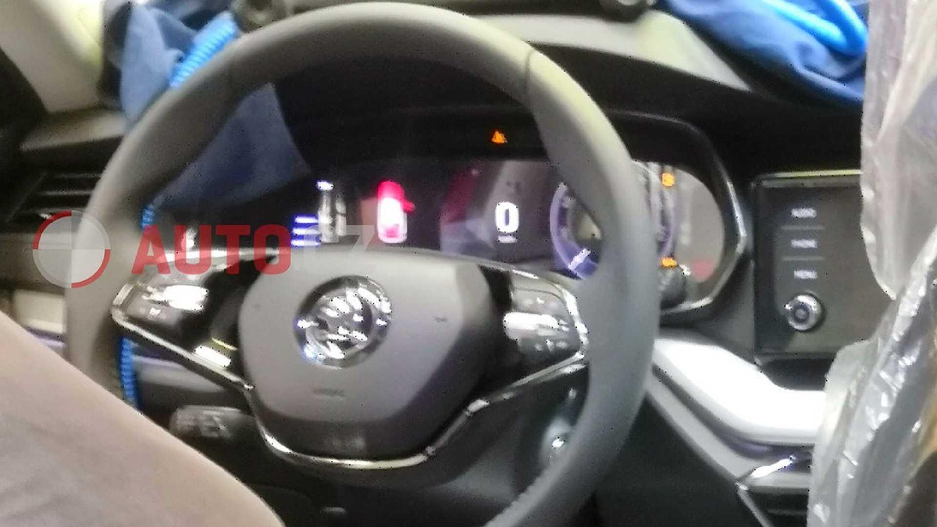 Skoda Octavia 2020 wnętrze