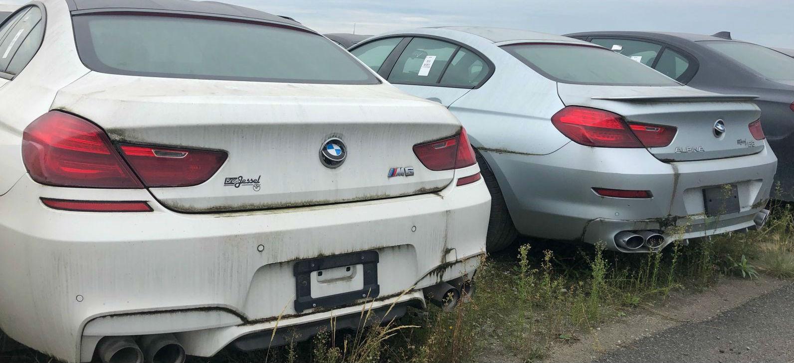 złomowanie pojazdów BMW