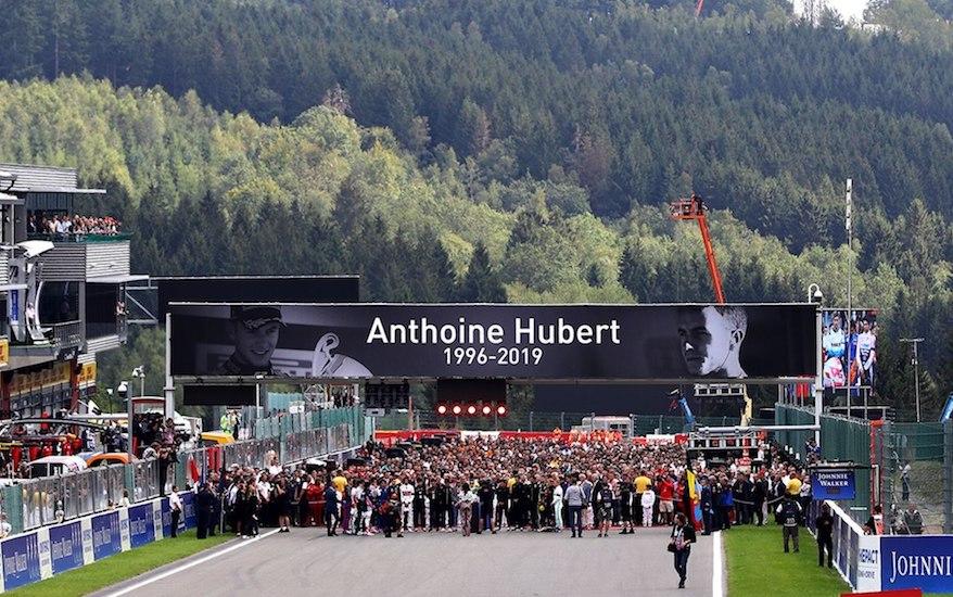 Formuła 1 - GP Belgii - Anthoine Hubert