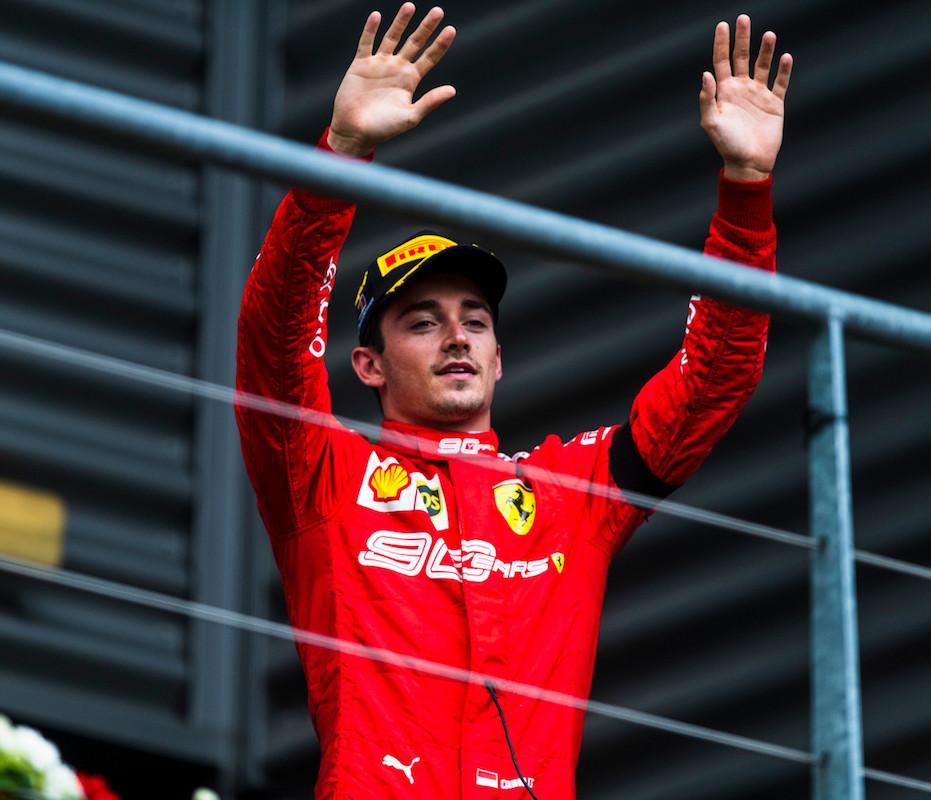 Formuła 1 - GP Belgii - Ferrari - Leclerc