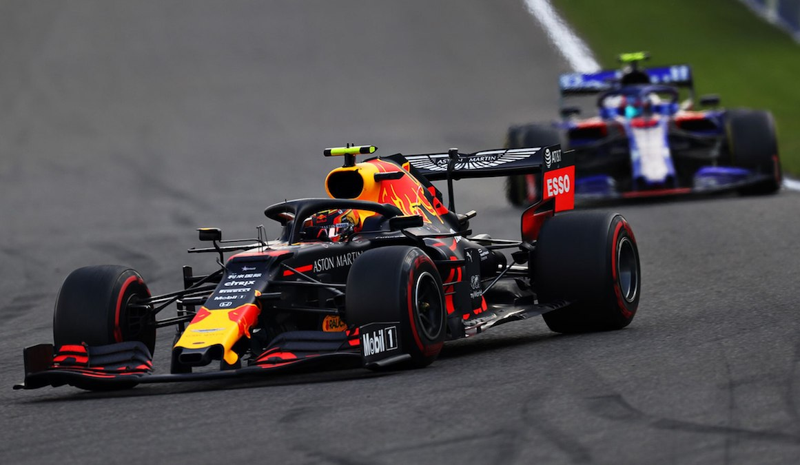 Formuła 1 - GP Belgii - Red Bull - Albon