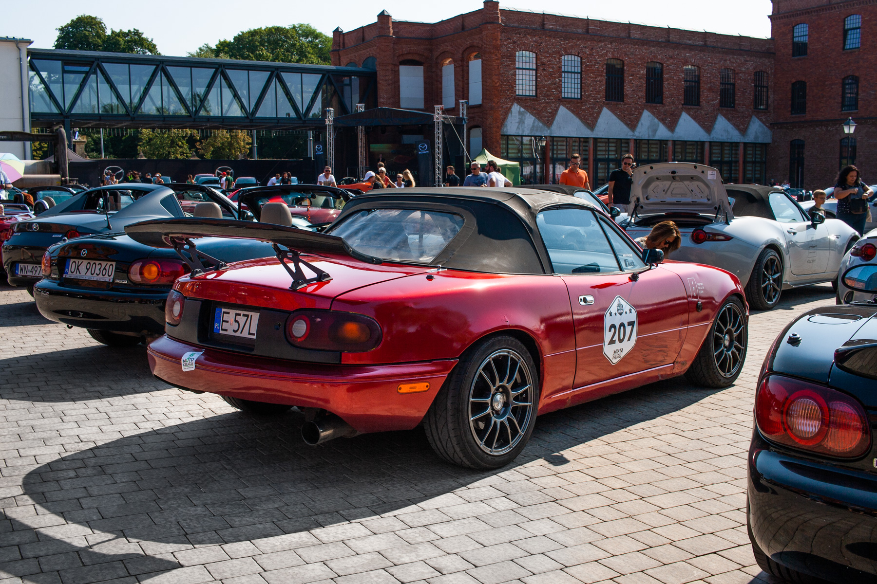 Mazda MX-5 zlot Łódź