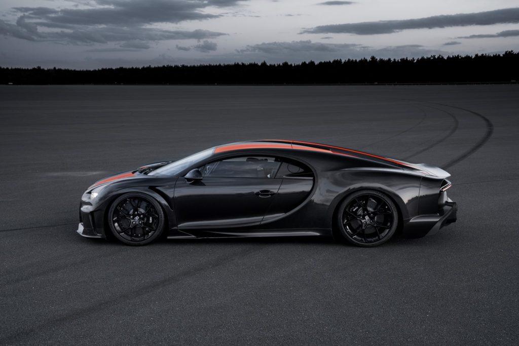 Bugatti Chiron rekord prędkości