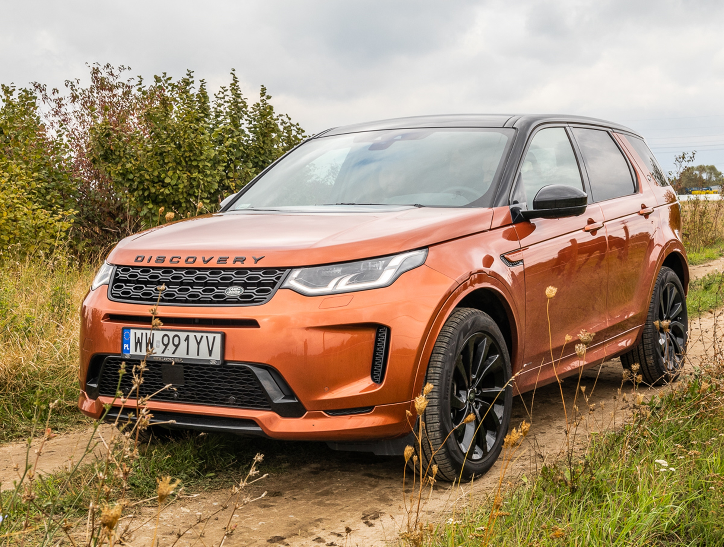 Land Rover Discovery Sport 2019 test