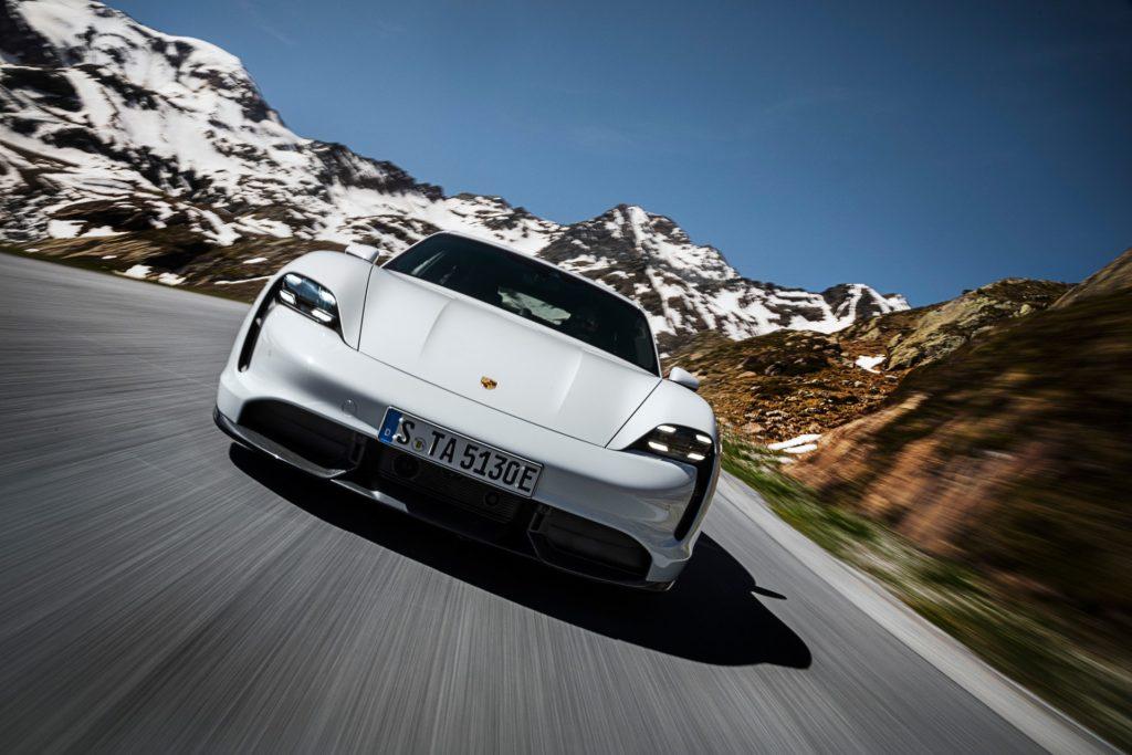 Porsche Taycan skrzynia biegów