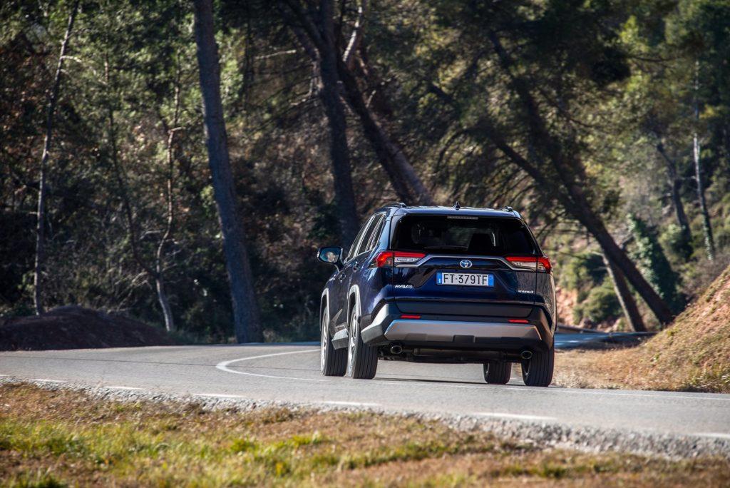 Toyota RAV4 test łosia