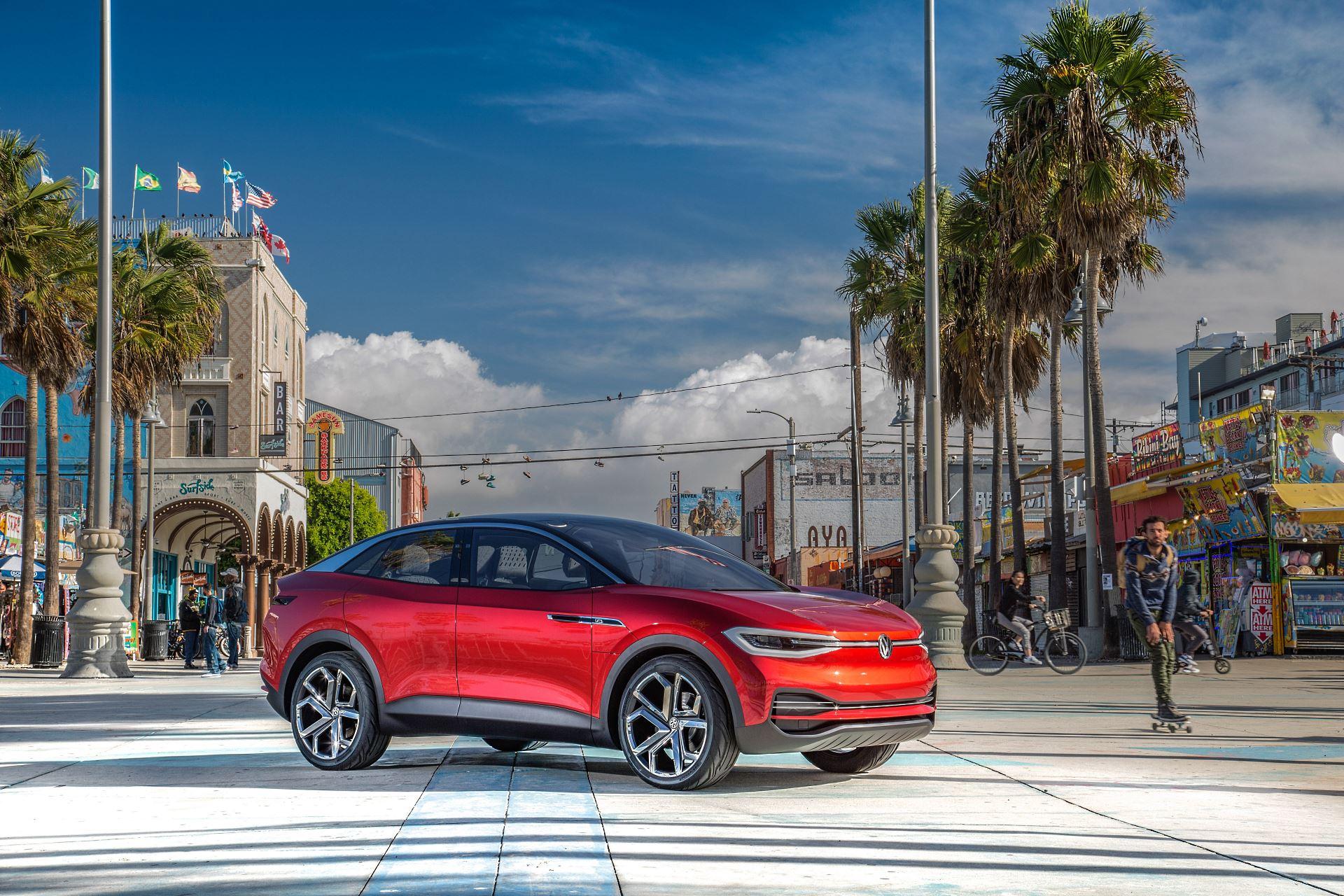 Volkswagen ID.4 to elektryczny SUV. Pojawi się na rynku w ...