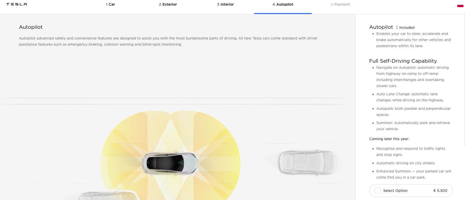 Tesla autopilot pozew