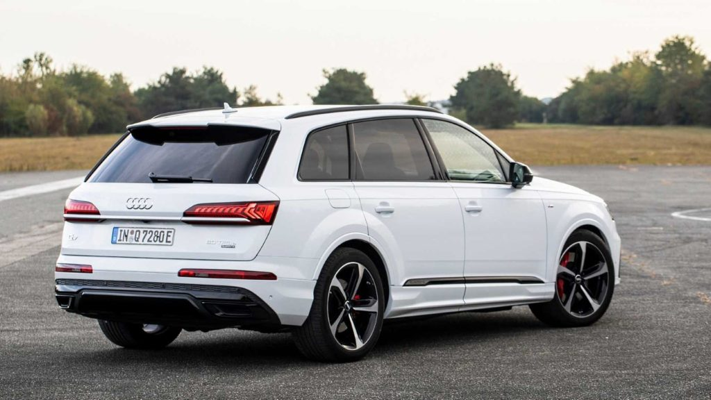 Audi A8 hybryda